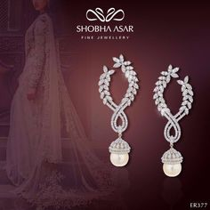 When design meets art, beauty is born. Pearl Jewelry, Indian Jewelry, Gold Jewelry, Jewelery, Fine Jewelry, Diamond Earrings Indian, Diamond Hoop Earrings, Diamond Jewelry, Jewellery Sketches