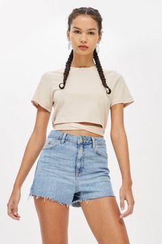 fd26d5464fd6 Tie Crop T-Shirt - New In Fashion - New In