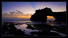 Sunset in Batu Balong, Bali. Photo by Dennis Walton Sun Worship, South Pacific, Sunrise, Wanderlust, World, Places, Travel, Outdoor, Landscapes