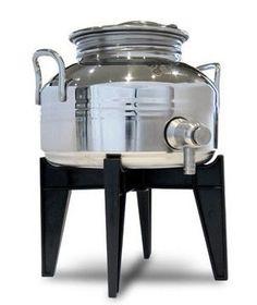 Stainless Steel Fusti - 5 Liter Capacity, Made In Italy, NSF Certified LNS http://www.amazon.com/dp/B00IIWR0BE/ref=cm_sw_r_pi_dp_QmO6tb19YWDZ0