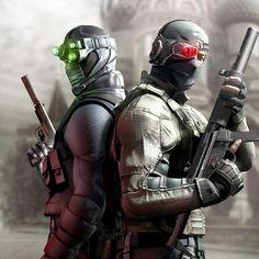 Splinter Cell Conviction #gaming #splinter cell