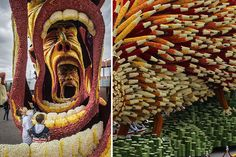 19 Giant Flower Sculptures Honour Van Gogh At World's Largest Flower Parade In The Netherlands