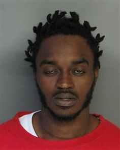 Saquan Caliek Meekins; DOB: 8/4/1986; Eye Color: Brown; Ht: 5'08; Wt: 155; Race: B; Offense: Strong Armed Robbery; Last known address: Branchwood Drive Goose Creek SC