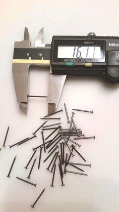 High Strength Black Shoe Tacks for Lasting Repairs Cobbler nails 12mm 15mm 20mm