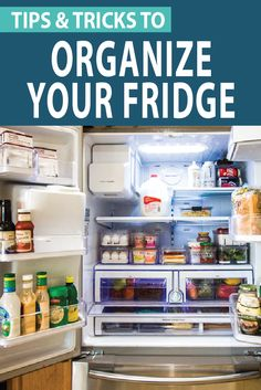 How To Organize A French Door Refrigerator (+ Free KonMari Checklist) Need fridge organizing ideas? Maximize that storage space with these tips for organizing a French door refrigerator. Your kitchen will be organized in no time! Freezer Organization, Organization Hacks, Organizing Ideas, Kitchen Organization, Organized Kitchen, Household Organization, Kitchen Storage, Konmari, Lg French Door Refrigerator