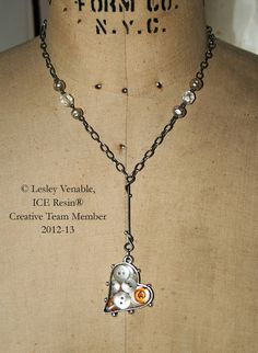 ice resin® jewelry by Lesley Venable, member of the 2012-2013 Ice Resin Design TeamTeam