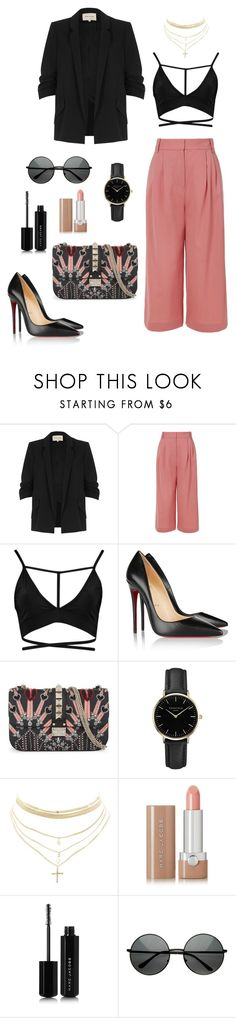 Untitled #272 by bajka2468 on Polyvore featuring Boohoo, River Island, TIBI, Christian Louboutin, Valentino, Charlotte Russe, ROSEFIELD and Marc Jacobs
