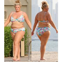 Plus Size Entertainment Fashion: UK Reality TV Star & Plus Size Designer Gemma Collins Rocks a Bikini While On Vacation - http://www.plus-model-mag.com/2014/01/plus-size-entertainment-fashion-uk-reality-tv-star-plus-size-designer-gemma-collins-rocks-a-bikini-while-on-vacation/