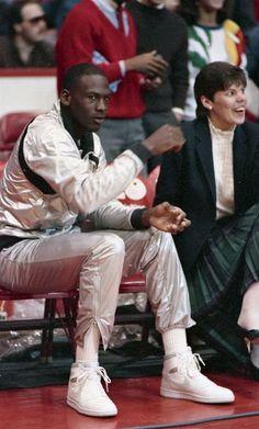 Michael Jordan 80's swag