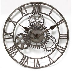 You'll love the Fiora The Cog 50.8cm Wall Clock at Wayfair.co.uk - Great Deals on all Home Décor products with Free Shipping on most stuff, even the big stuff.