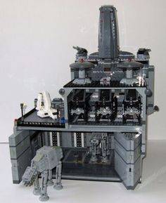 LEGO Mini Imperial Base #StarWars