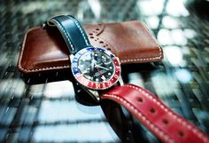 esp leather strap for GMT master
