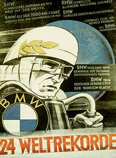 "BMW Motorrad – passion on two wheels since Their quality and sporty character rapidly earned BMW's two-wheelers international repute. The ""Green Hell"" turns Since its debut race, BMW has been raking in repeated victories on the legendary Nü. Bmw Scrambler, Motos Bmw, Bmw Motorcycles, Vintage Motorcycles, Bmw Motorbikes, Motorcycle Posters, Car Posters, Motorcycle Art, Bike Art"