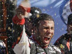 Darrell Wallace, Jr. makes NASCAR history with victory via @Jill Meyers Jackson Norris TODAY