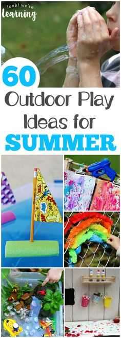 60 Awesome Fun in the Sun Ideas for Kids