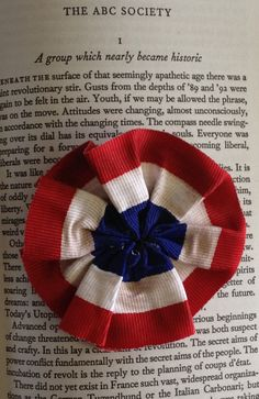 Restocked!  Les Miserables inspired rosette by Leahssweetshoppe on Etsy, $7.00