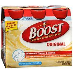 Boost Original, Complete Nutritional Drink Very Vanilla - 8 oz.