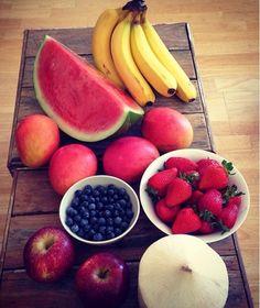 Banana Watermelon Mango Strawberry Blue Berry Apple Coconut
