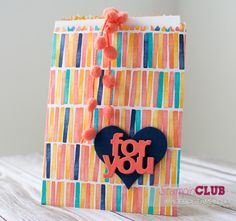 Stampin Up Mini Treat Bag Thinlits Mini-Leckereientüten Birthday Bash DSP Geburtstagsparty