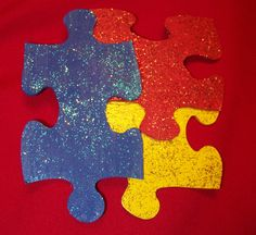 Today is World Autism Awareness Day and the month of April is Autism Awareness Month! Our office will be wearing these puzzle piece pins the entire month of April-starting today! Dr. Marc E. Goldenberg, Dr. Kate M. Pierce, and Dr. Matthew S. Applebaum Pediatric Dental Office Greensboro, NC