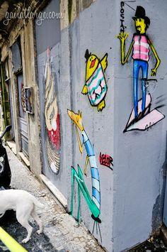 Porto street art by Costah & David Selor
