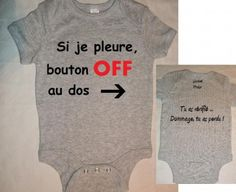 Body bébé original nouvelle collection