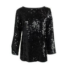 1stdibs | Yves Saint Laurent Black Sequined Tunic