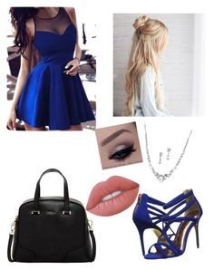"""""""Untitled #21"""" by jaysen-martin on Polyvore featuring Ted Baker, Furla and Lime Crime"""