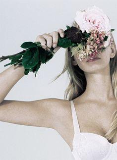 Marloes Horst for Stella McCartney lingerie