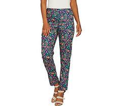 C. Wonder Regular Nantucket Floral Print Ankle Pants