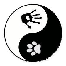 Image result for yin yang paw tattoo
