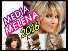ANA CLAUDIA CHAGAS MARTINEZ CABELEIREIRA- CORTES MEDIOS. CORTES DE PELO MEDIA MELENA 2016 | Nuevas Tendencias Melena Midi!