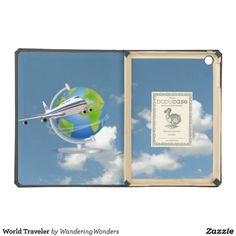 World Traveler Cover For iPad Air