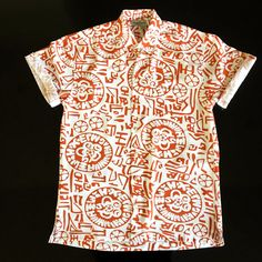 Temple Of Bloom Shirt By Kenny Flowers. I get the feeling Indiana Jones would have solved a lot more archeology-related alien mysteries if he had this bad boy to fill out his fashion portfolio.  Hook 'em Horns.   100% Rayon Regulaxed fit Coconuttons The Sunglass Loop Double stitched, double trouble Fresh, versatile design Handmade in Bali Limited Edition