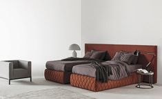 Tuyo Bed by Meridiani   Double beds