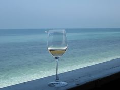 My two favs...wine and sea