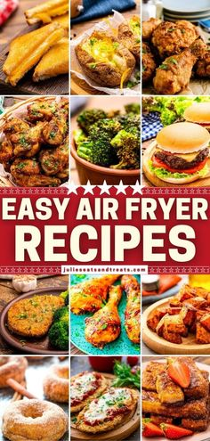 Now you can enjoy some crispy goodness without the oil and mess! The entire family is going to love this roundup of Quick and Easy Air Fryer Recipes. Find something delicious to make for breakfast, lunch, side dish, dinner, and dessert. The possibilities are endless! Easy Family Meals, Quick Easy Meals, Frugal Meals, Family Recipes, Air Recipe, Veggie Chips, World's Best Food, Air Fryer Recipes Easy, Appetizer Recipes