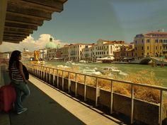 Venecia: oakley filter for camera. Gran canal.