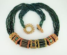Bead Show: Bead Show Workshops & Classes: Friday May 31, 2013: B130498 Rapunzel's Ringlets