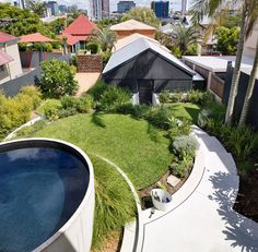 In the inner-city Brisbane suburb of New Farm, Landscapology presents a compelling vision of a new-century rural garden.