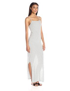 Vero Moda Women's Winona Sleeveless Tank Style Long Ankle Dress with Stripes >>> Discover this special product, click the image : Fashion