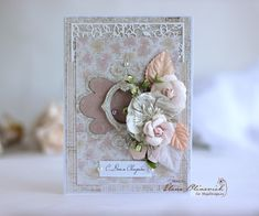 Elena Olinevich: Wedding and Birthday cards from one paper sheet - Maja Design