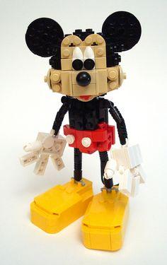 .Lego Mickey