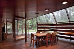 Midcentury Dining Room by John Lautner, Remodelista #artchitecture #extension #house #btl #buytolet home extension ideas pinned by www.btl-direct.com the free buytolet mortgage search engine for UK BTL deals instant quotes online