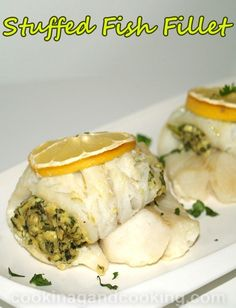 Stuffed Fish Fillet Recipe