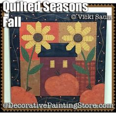 Quilted Seasons - Fall ePattern - Vicki Saum - PDF DOWNLOAD