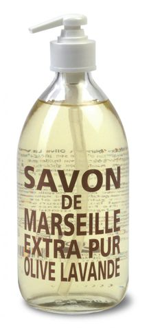 Savon de Marseille - Flytande tvål - Lavendel 500 ml