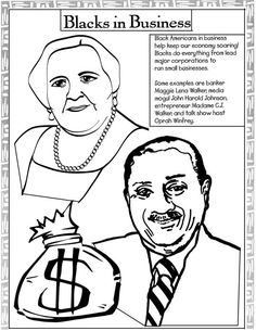 black history month coloring pages black history coloring pages madame cj walker john