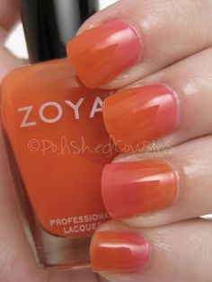 Polished Cousins: Zoya Blogger Trio - Jelly Gradient