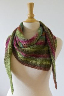 Love this colourway! Scarf is very soft and warm. Yarn softened up after blocking. Used 4 balls of Noro Silk Garden…very large scarf!